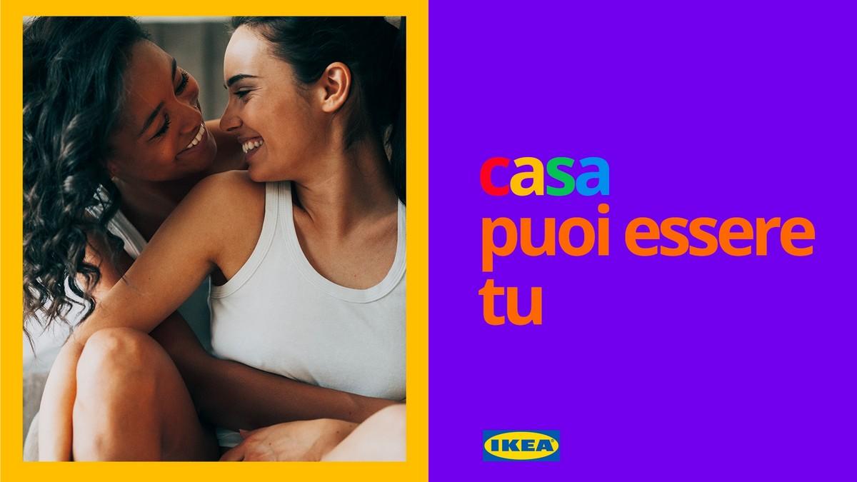 Ikea campagna contro l'omofobia 2020