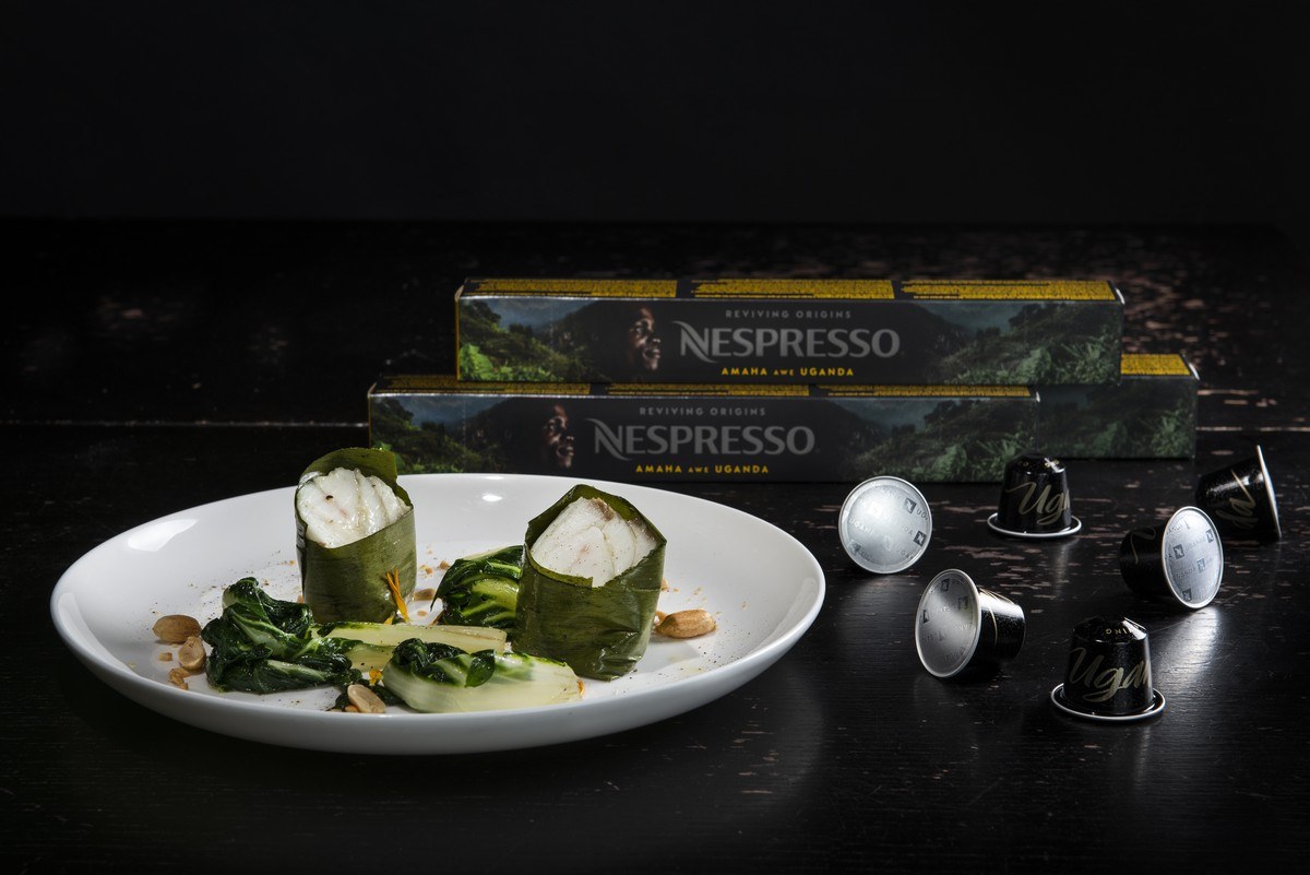 Nespresso caffè Amaha awe Uganda