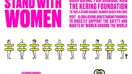 Salma Hayek Chime For Change 2020: la campagna #StandWithWomen
