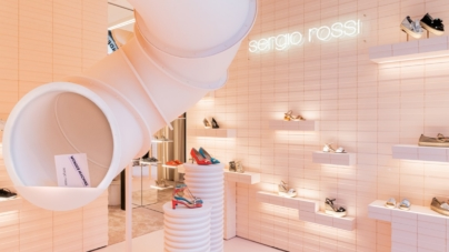 Sergio Rossi via Montenapoleone Milano: il digital pop-up store e la nuova shopping experience