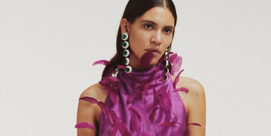 The Attico Pre Fall 2020: ispirazione gypsy, tutti i look della collezione