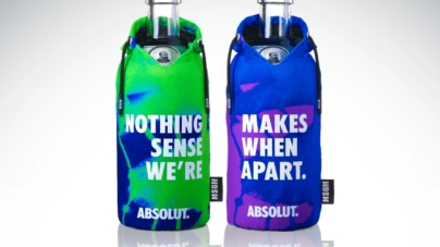 """Absolut Vodka MSGM limited edition 2020: """"Nothing makes sense when we're apart"""""""