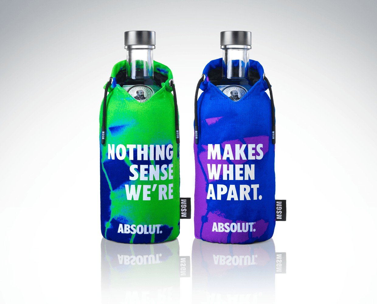 Absolut Vodka MSGM limited edition 2020
