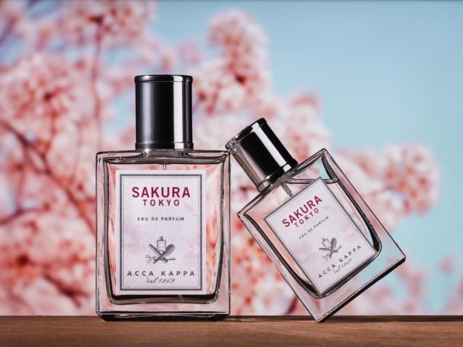 Acca Kappa Sakura Tokyo: il latte per il corpo e il bagno doccia