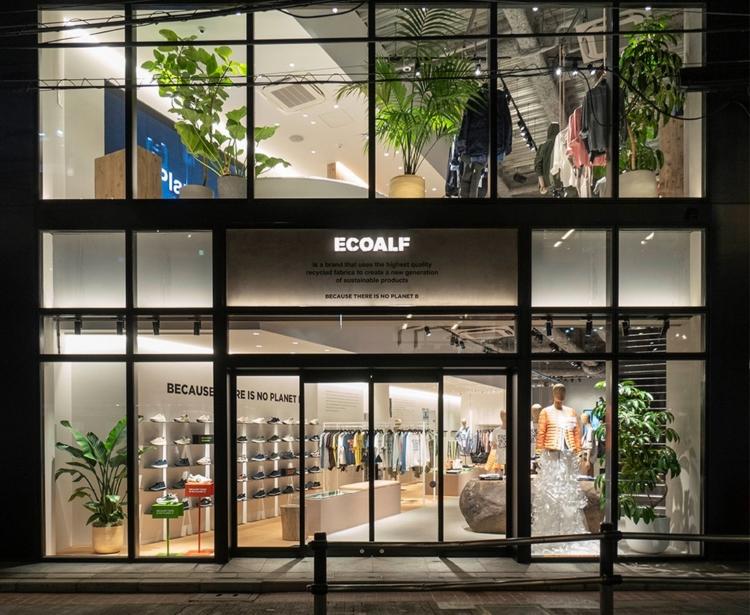 Ecoalf store Giappone Shibuya