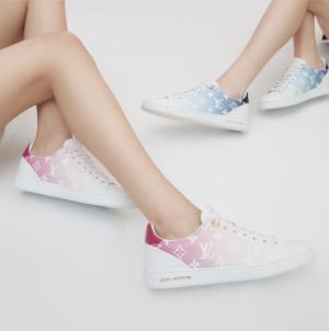 Louis Vuitton sneakers donna 2020: un'inedita combinazione di materiali e colori freschi