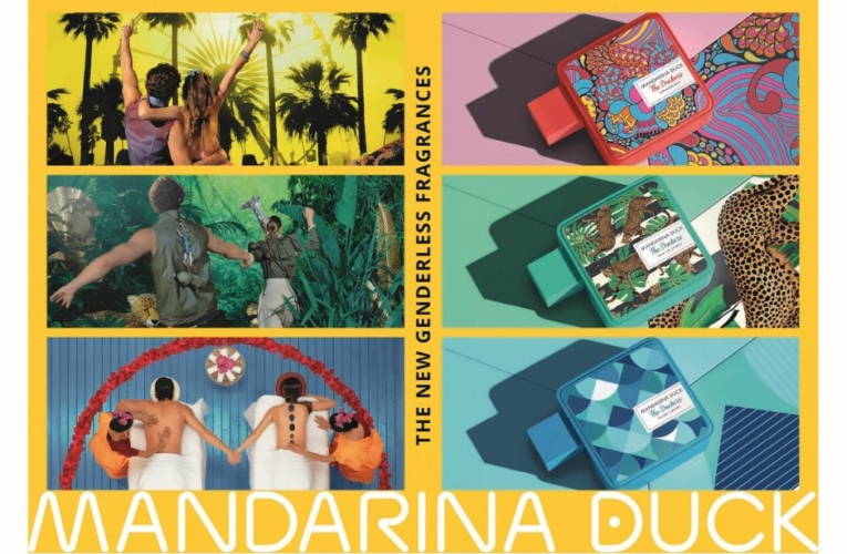Mandarina Duck The Duckers: le nuove fragranze Into the Jungle, Resort Lovers e Freedomland