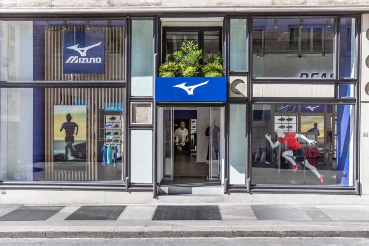 Mizuno Torino flagship store: il primo esclusivo monomarca europeo del brand