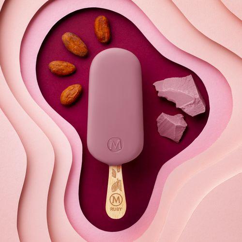 Nuovo gelato Magnum Ruby