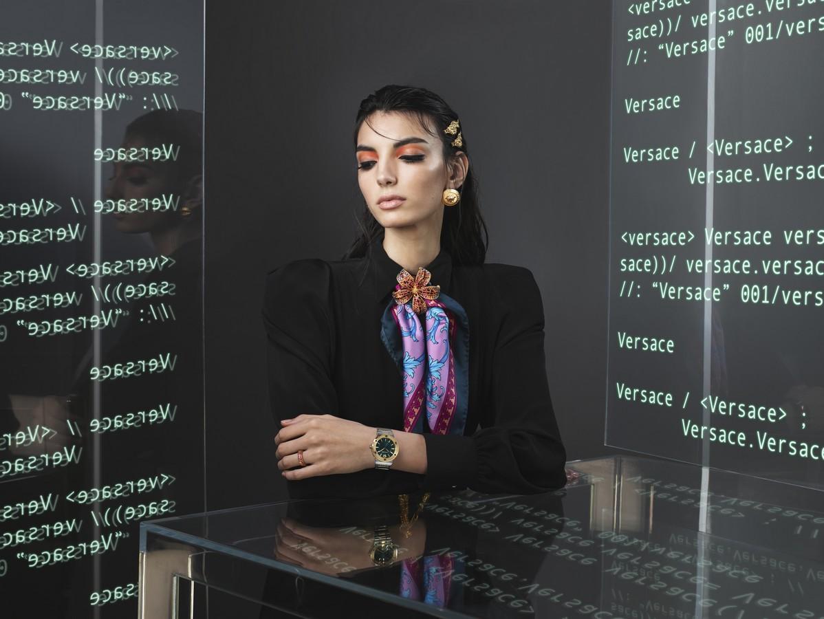 Orologi Versace primavera estate 2020