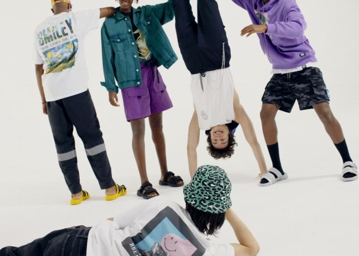 Pull&Bear Smiley capsule collection: tocchi d'arte all'insegna dello streetwear