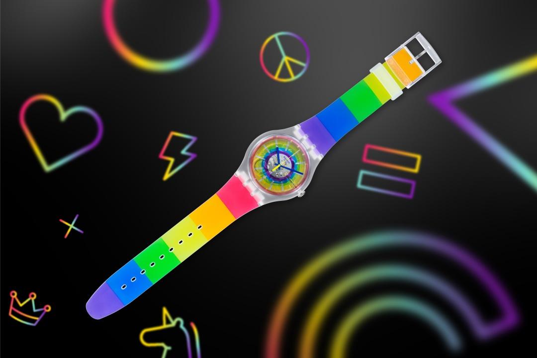 Swatch orologio Pride 2020