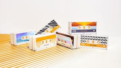 Veuve Clicquot Tape 2020: i coffret Rétro Chic, l'iconico ritorno della musicassetta!