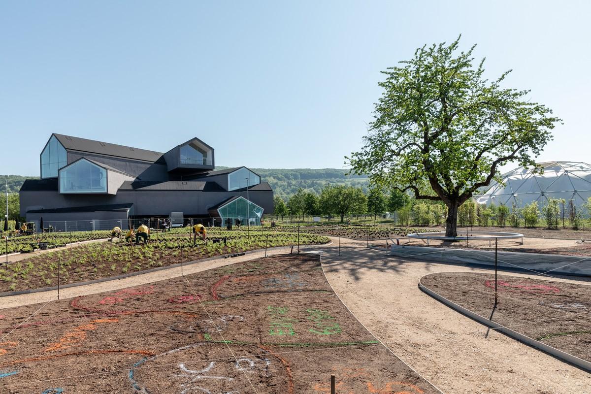 Vitra Campus giardino Piet Oudolf