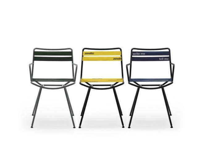 Zanotta sedie Dan 2020: il nuovo progetto di seduta firmato da Patrick Norguet