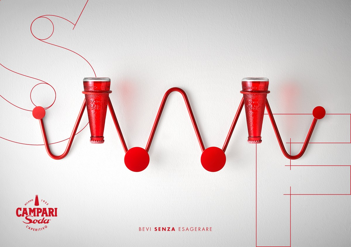 Campari Soda collezione Design Connection