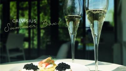 Caviale Calvisius Summer Box: per aperitivo gourmet da gustare in compagnia!