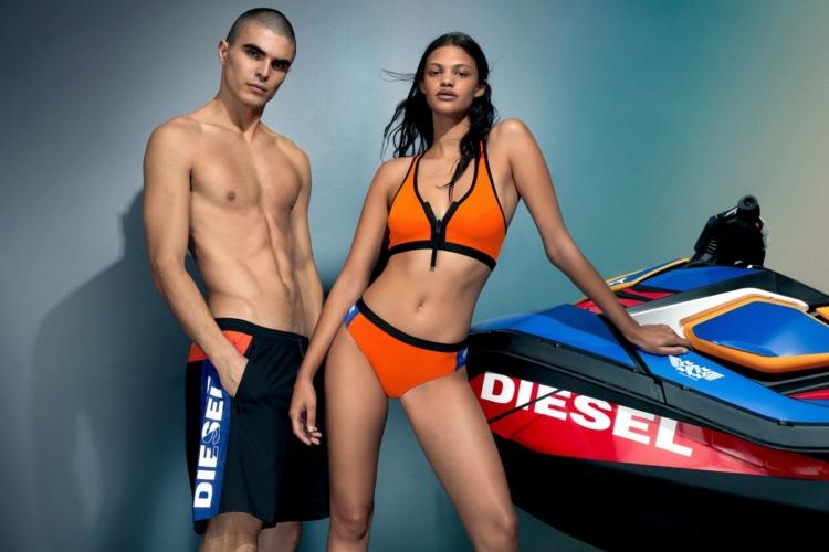 Diesel Sea Doo costumi 2020: la nuova capsule collection dedicata al beachwear