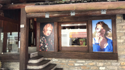 Kristina Ti Courmayeur store: il nuovo temporary shop dal mood vintage