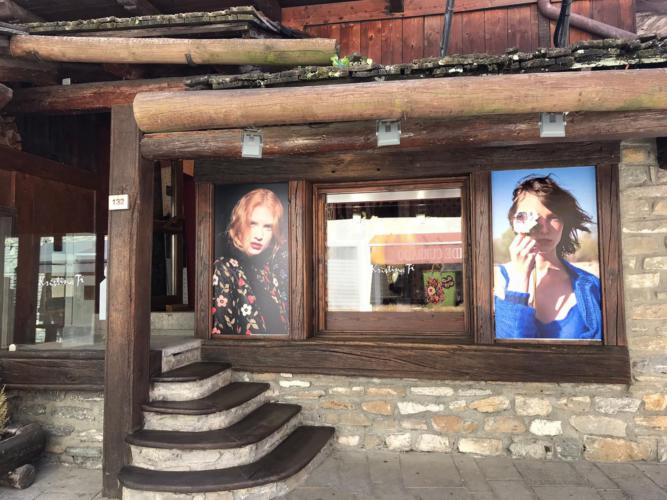 Kristina Ti Courmayeur store: il nuovo temporary shop dal mood vintage