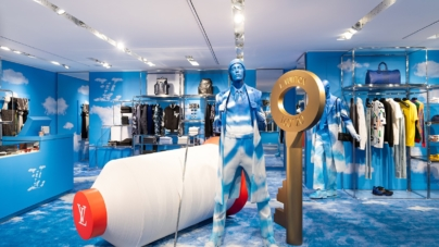 Louis Vuitton pop-up store Rinascente Milano: il nuovo concept Heaven on Heart