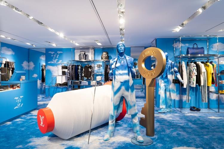 Louis Vuitton pop-up store Rinascente Milano