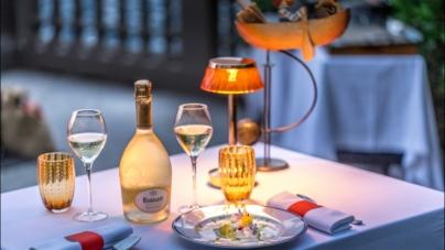Langosteria Lago di Como: Ruinart Food for Art, il menu Luminous Pop