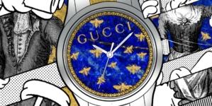 Orologio Gucci G-Timeless: il nuovo progetto di collaborazione artistica