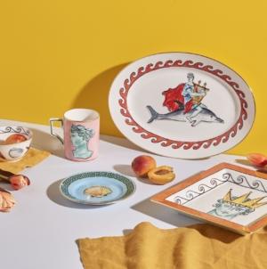 Richard Ginori collezione Il viaggio di Nettuno: i nuovi e inediti elementi del tableware