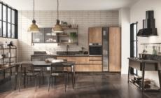 Scavolini Diesel Open Workshop: nuove finiture per l'ambiente cucina e bagno