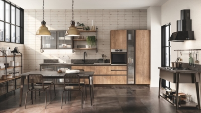 Scavolini Diesel Open Workshop: nuove finiture per l'ambiente cucina