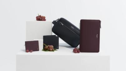 Serapian Grape capsule collection: l'eleganza milanese incontra l'eco sostenibilità