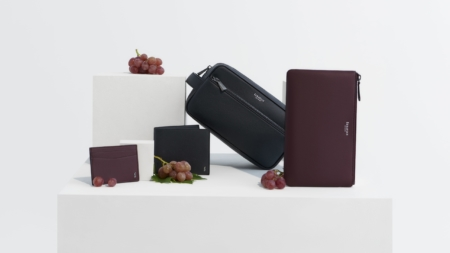 Serapian Grape capsule collection: l'eleganza milanese incontra l'eco sostenibilità