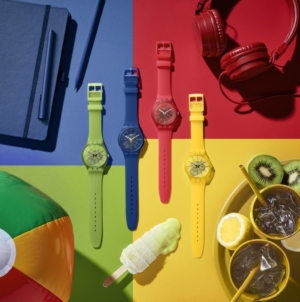 Swatch orologi Essentials estate 2020: un concentrato di colori vitaminici!