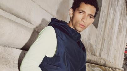 COS Uomo Activewear 2020: materiali sostenibili e linee ergonomiche