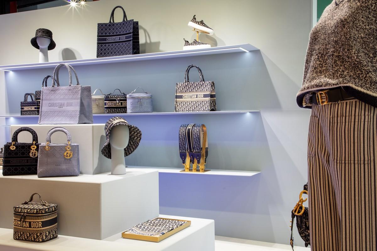 Dior Harrods pop up store 2020