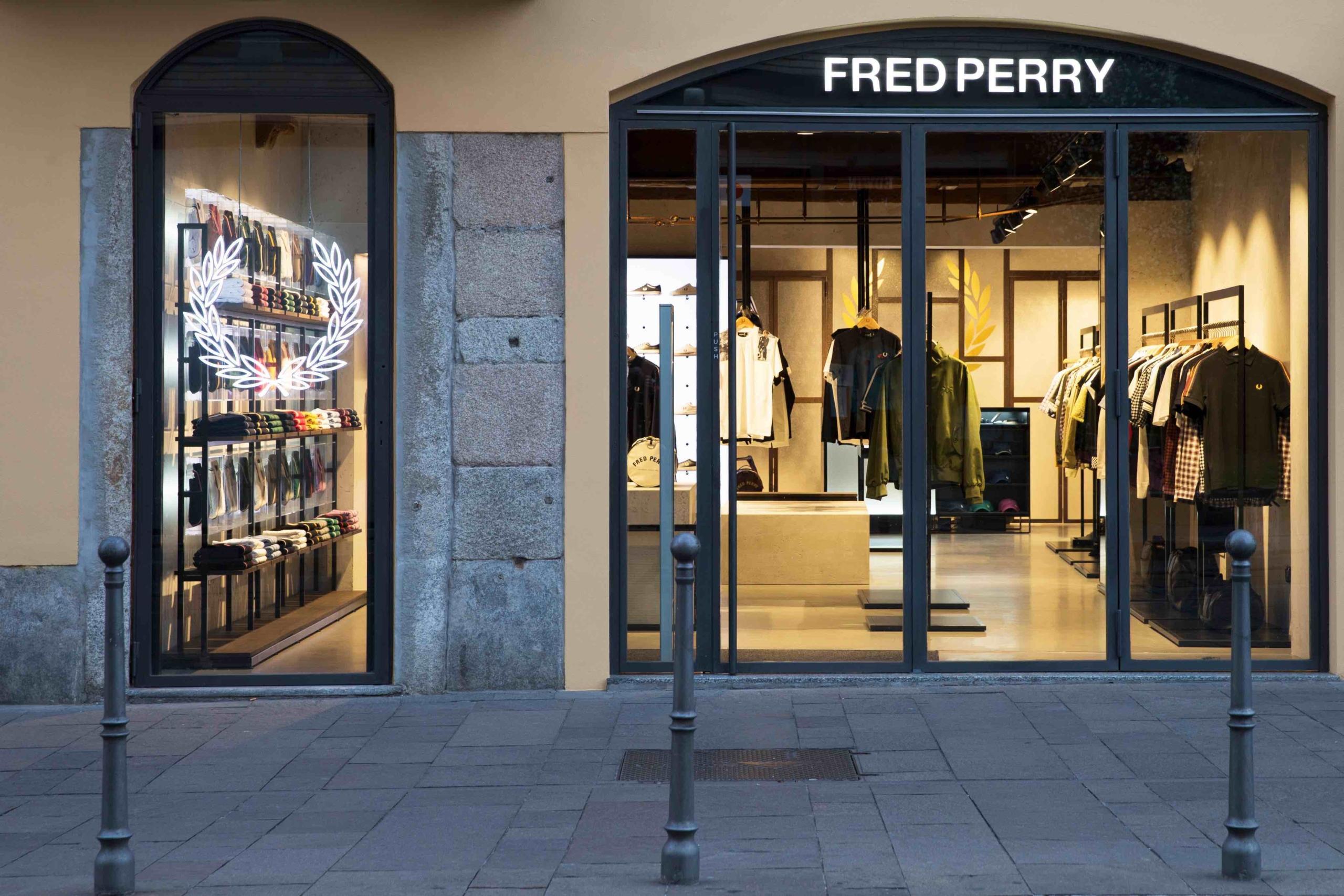 Fred Perry Milano Porta Ticinese