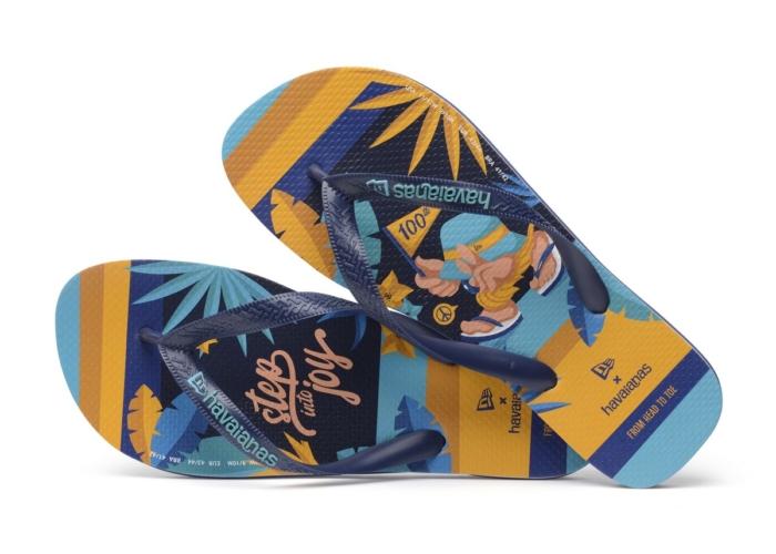 "Havaianas New Era capsule 2020: la collezione ""Step into Joy"""