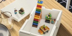 Ikea Lego contenitore Bygglek: la soluzione creativa con cui si può giocare e riordinare