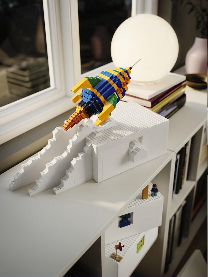 Ikea Lego contenitore Bygglek