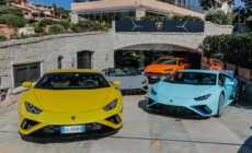 "Lamborghini Lounge Porto Cervo: la cena stellata ""Colors and Stars"""