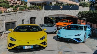 """Lamborghini Lounge Porto Cervo: la cena stellata """"Colors and Stars"""""""