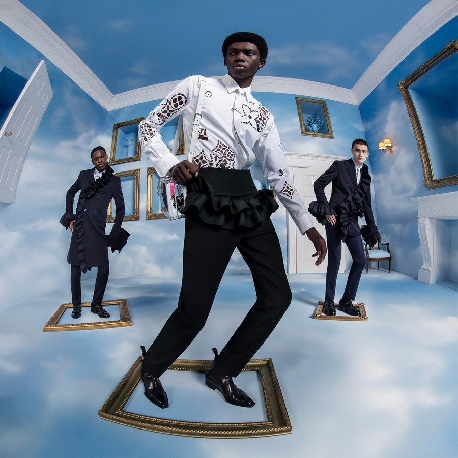 Louis Vuitton Uomo campagna autunno 2020