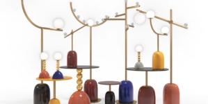 Marioni Pins Collection 2020: eclettici oggetti d'arredo