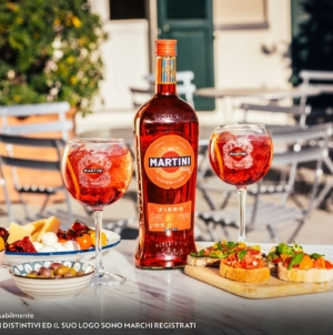 Martini Cocktail Fiero e Tonic: l'aperitivo con dedica, il progetto digital che celebra l'amicizia