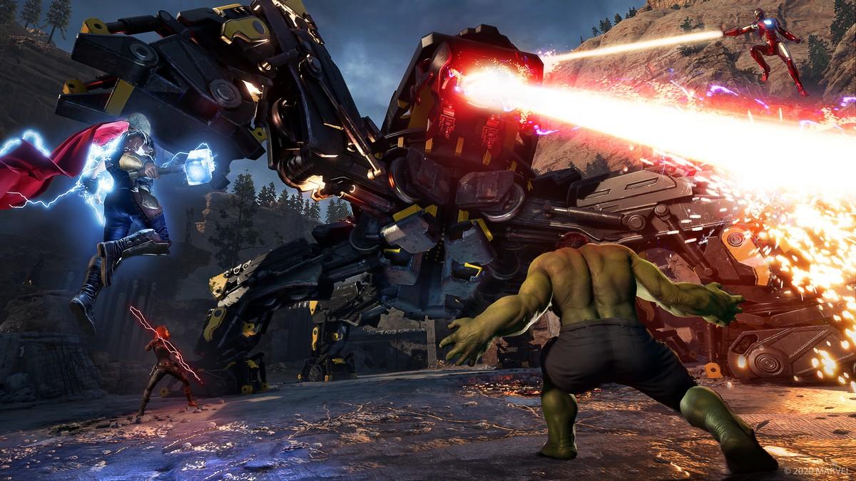 Marvel's Avengers videogioco 2020