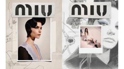 Miu Miu campagna autunno inverno 2020: Gigi Hadid, Kate Moss e Lila Moss