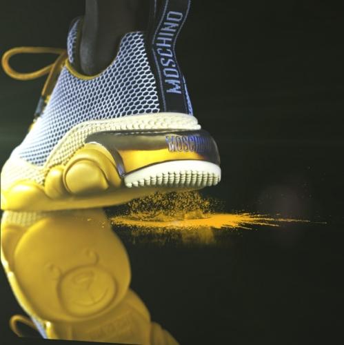 Moschino Teddy Bubble 2020: l'iconica sneaker per l'autunno inverno