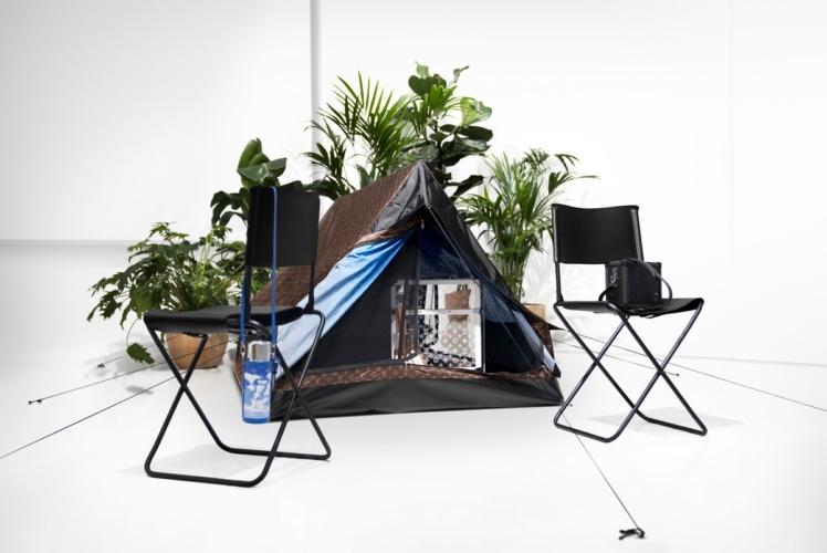 Tenda Louis Vuitton campeggio: l'arte del viaggio per i nomadi contemporanei