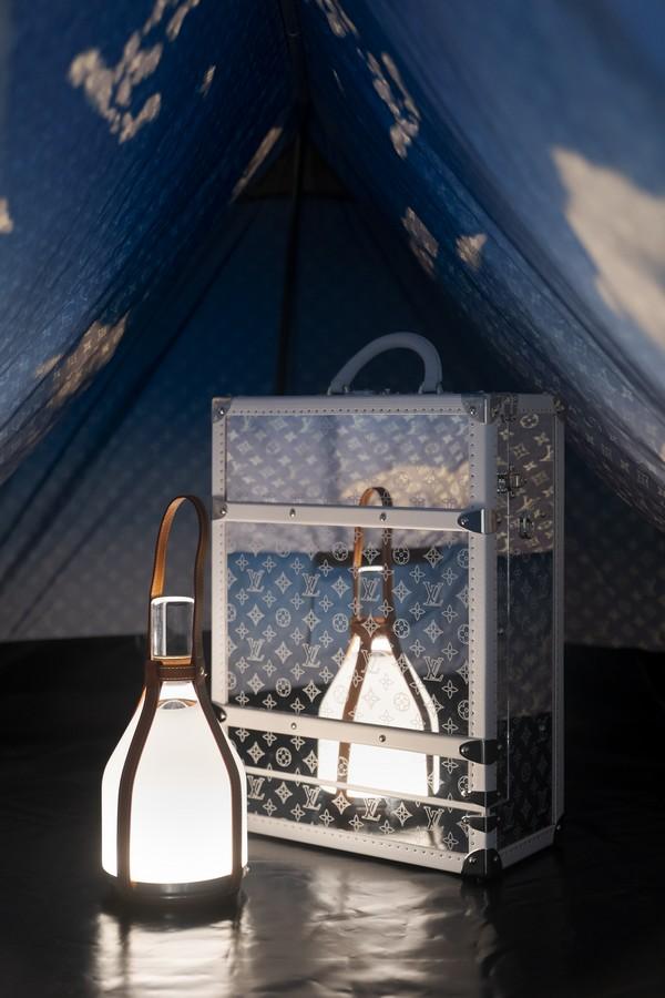 Tenda Louis Vuitton campeggio